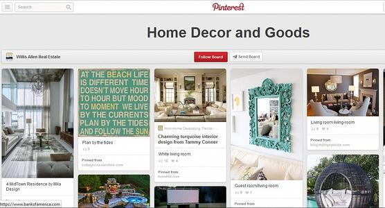 How Realtors use Pinterest