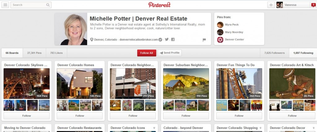 Real Estate Listings for Pinterest
