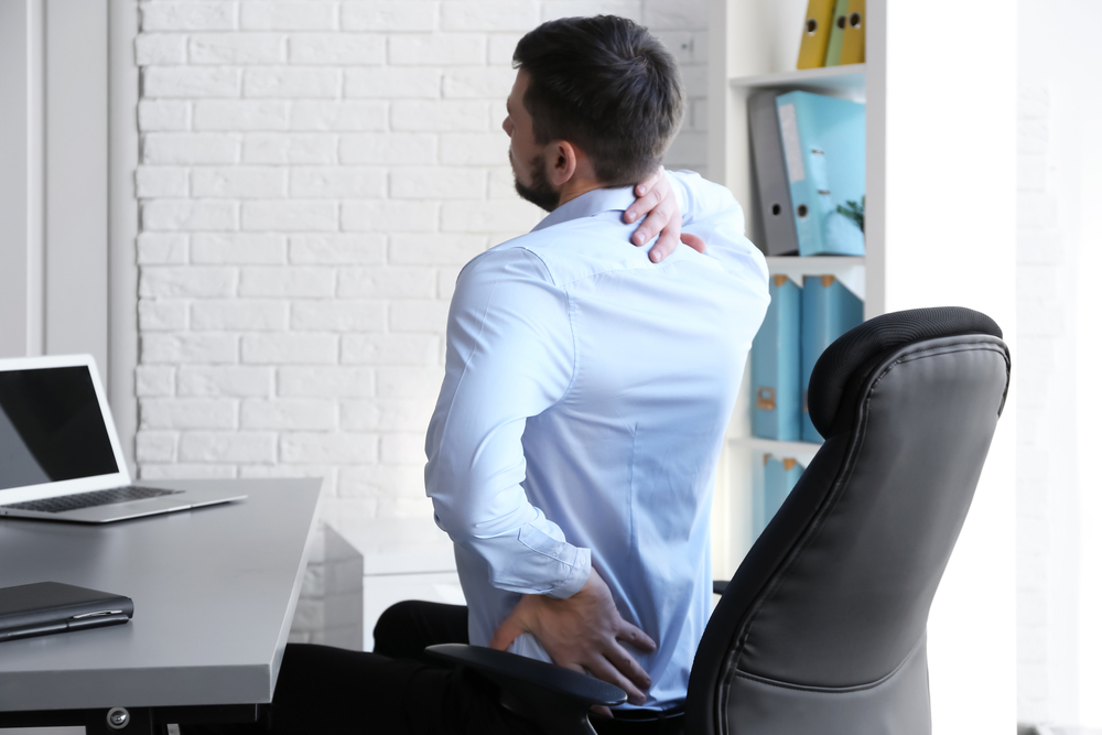 Back pain from poor posture