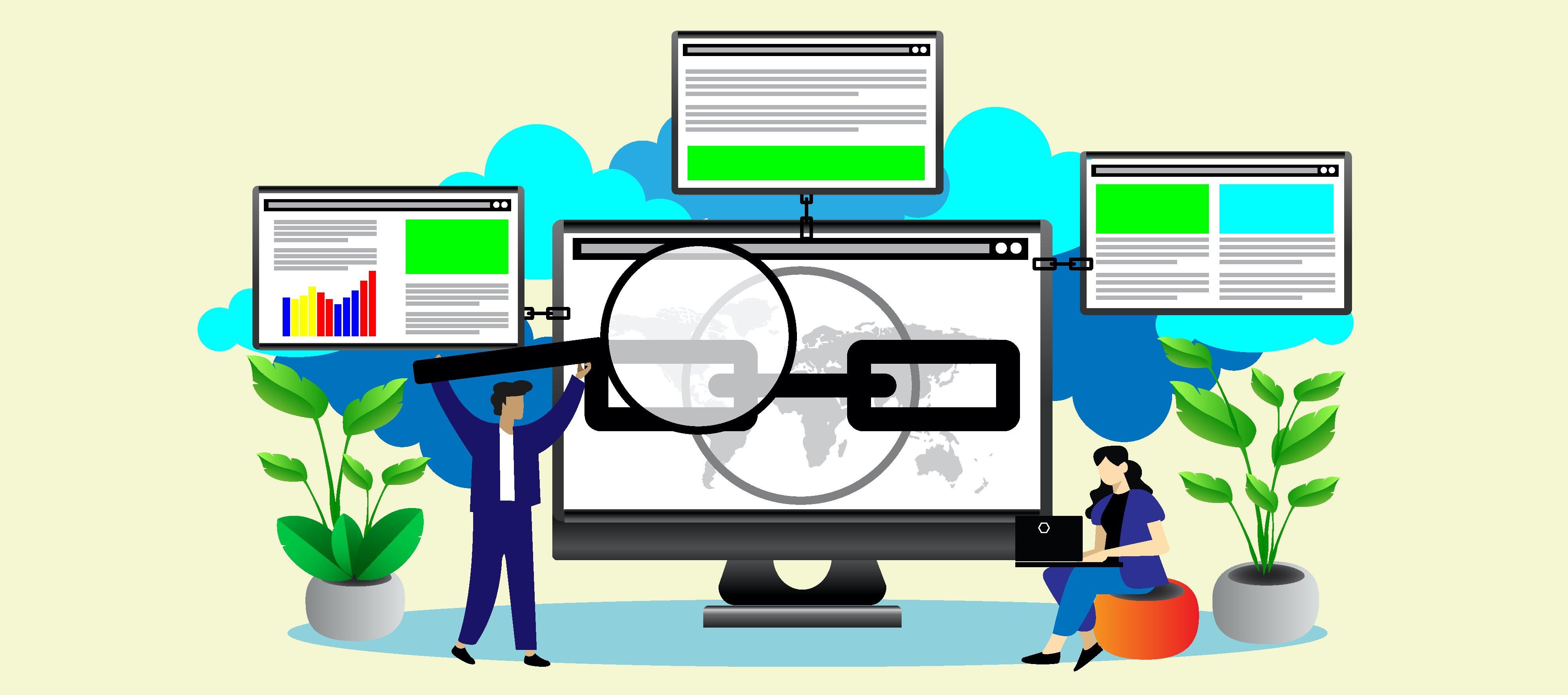Backlinks Illustration