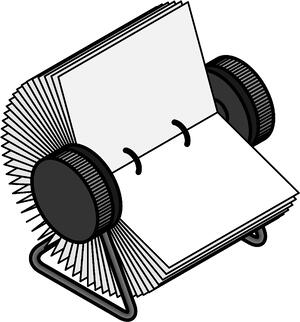 Traditional Rolodex