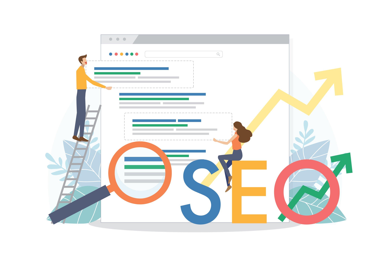 SEO Rankings Illustration