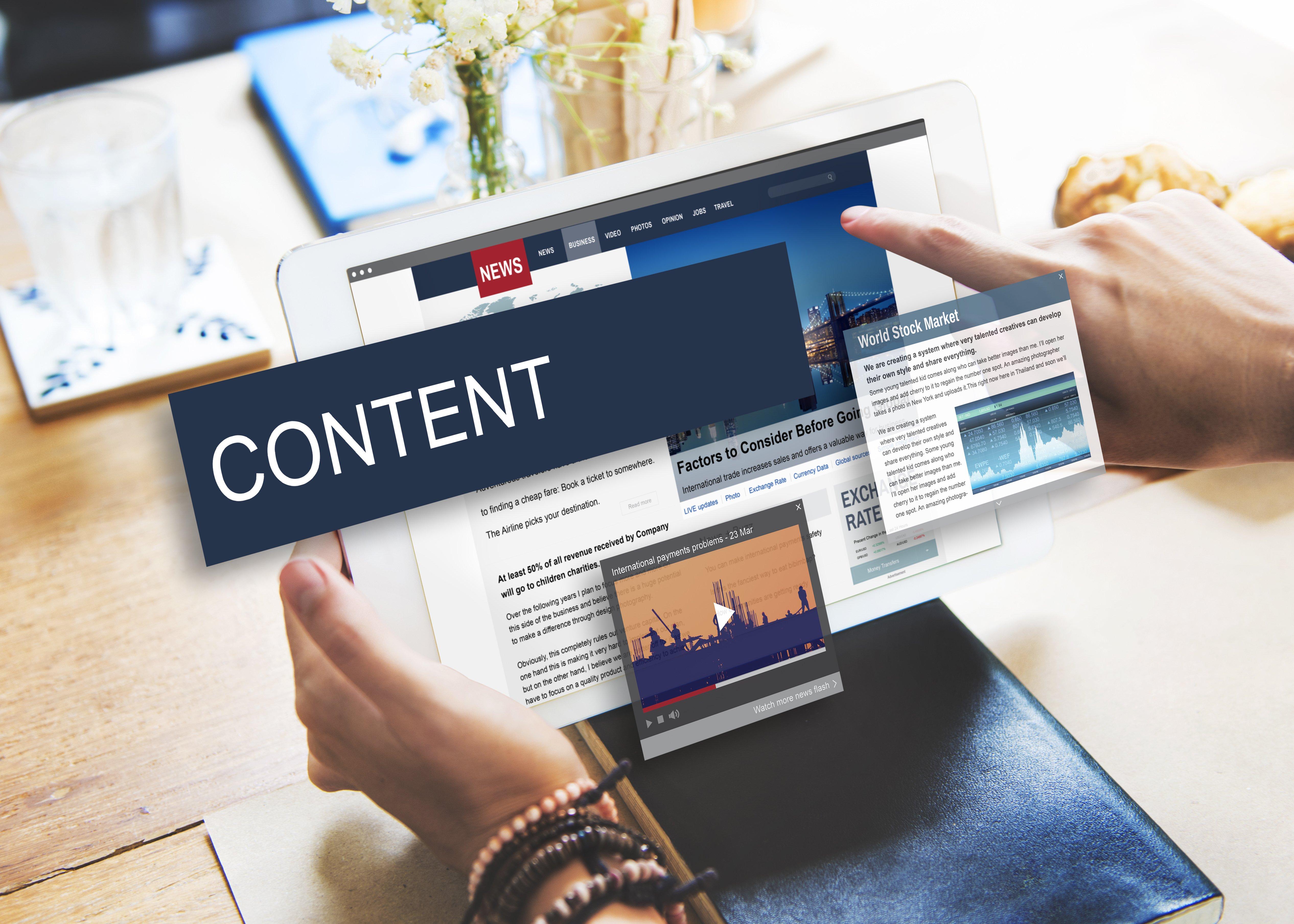 Content repurposing for service organizations
