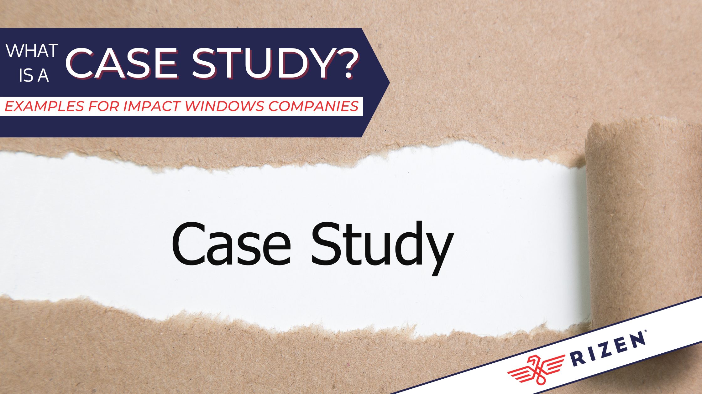 what is a case study examples for impact windows companies