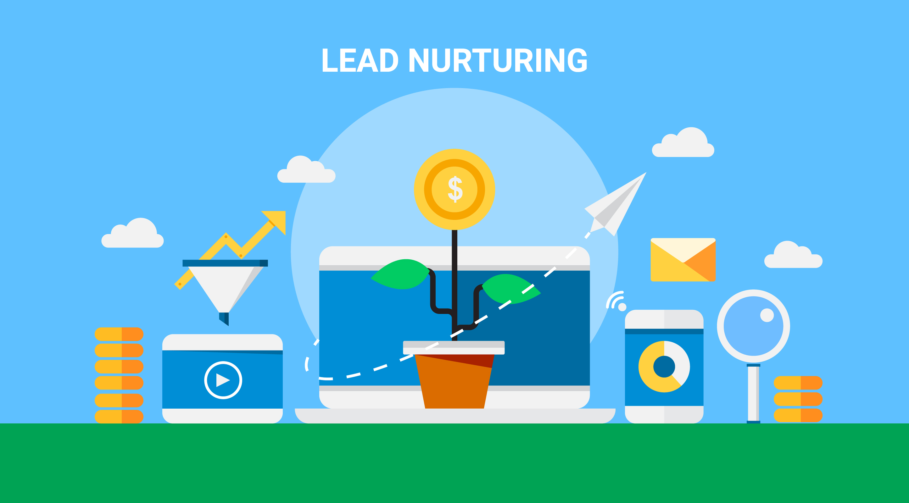 Lead Nurturing Artwork