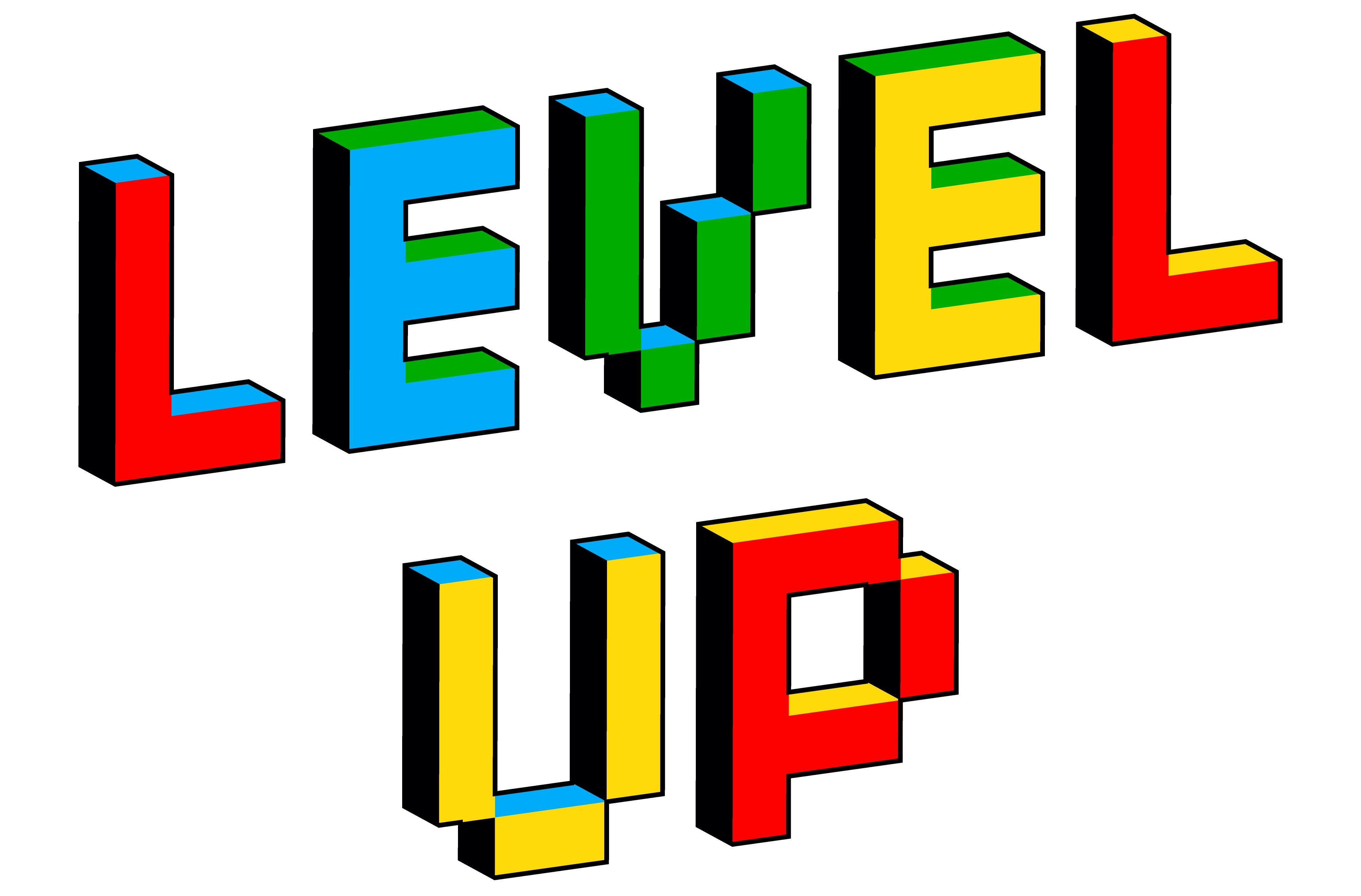 Level Up Wording Illustration