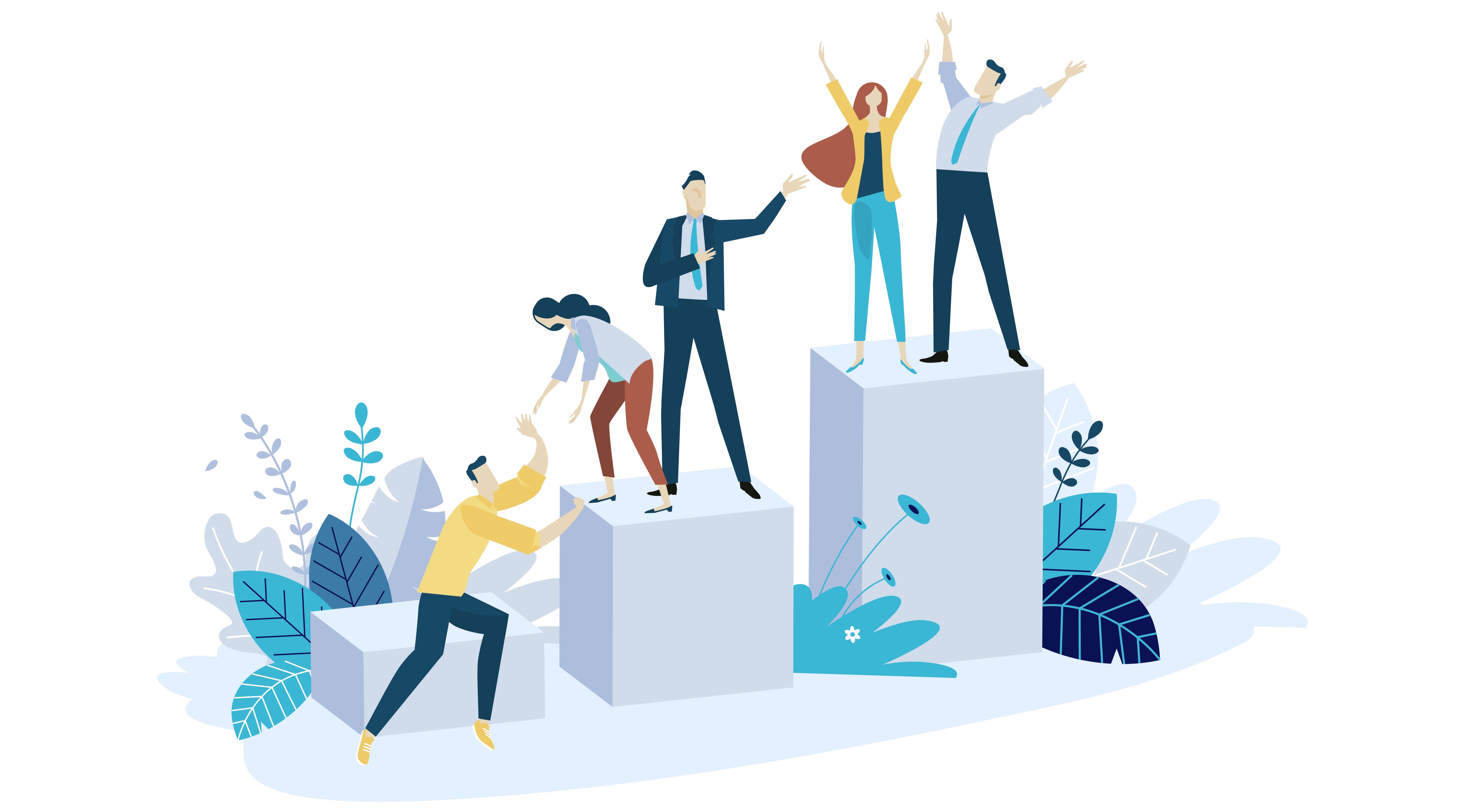 Marketing Growth Ilustration