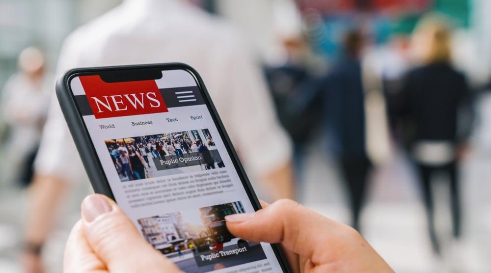 news on device