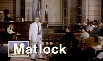 Matlock Show Title