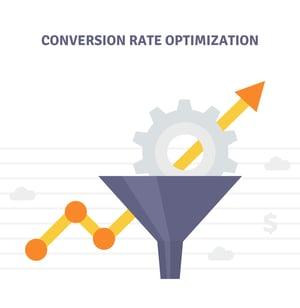 Conversion Rate Optimization Illustration