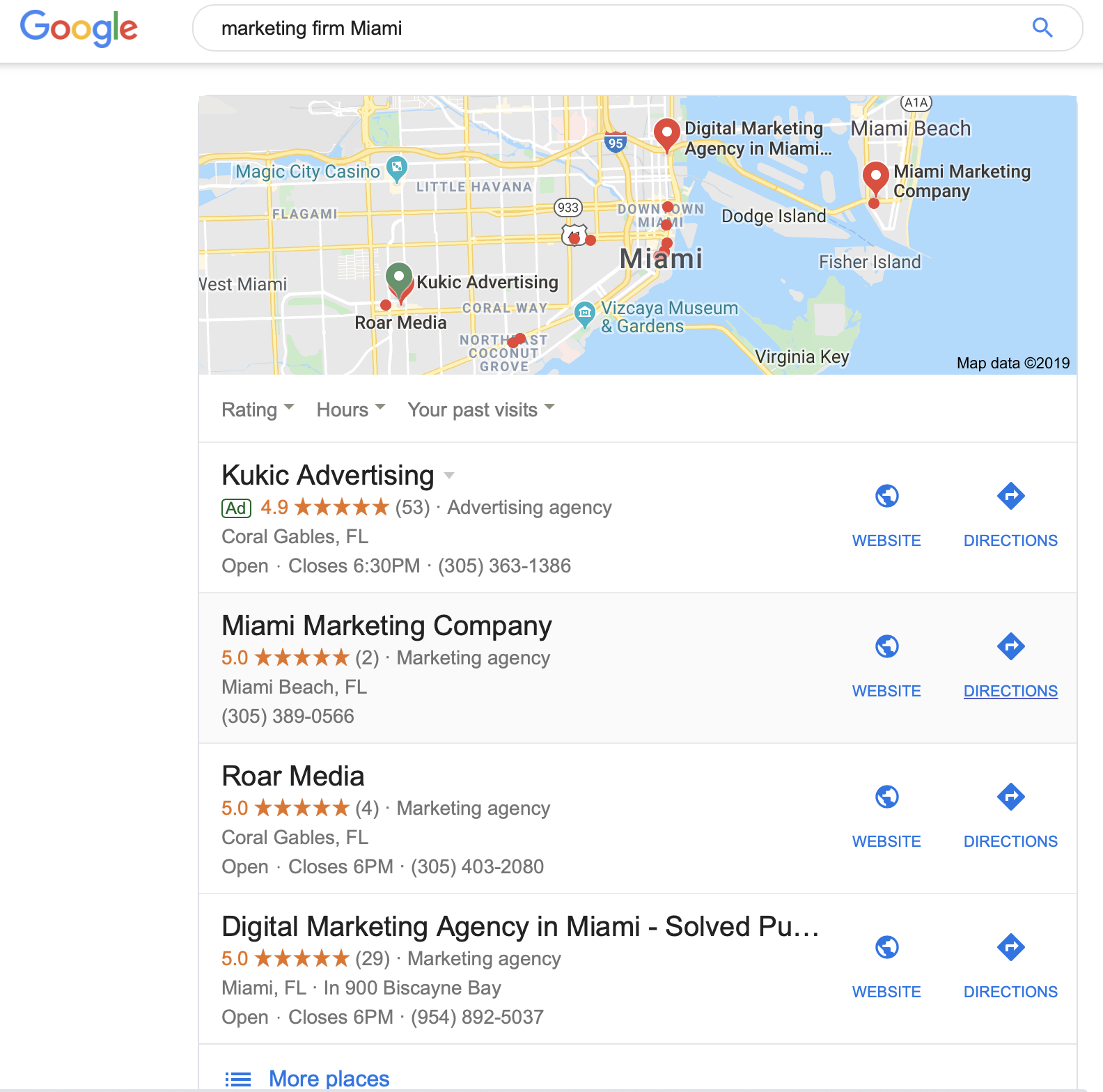 Google local ads for law firms