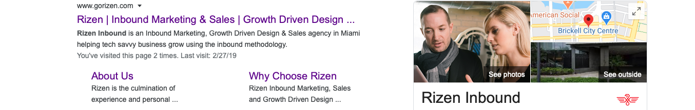 Rizen Search Result