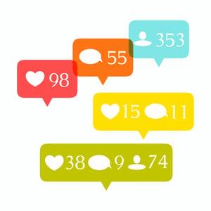 social media mentions illustration