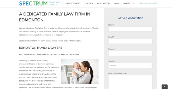 Spectrum Family Law Landing Page-1