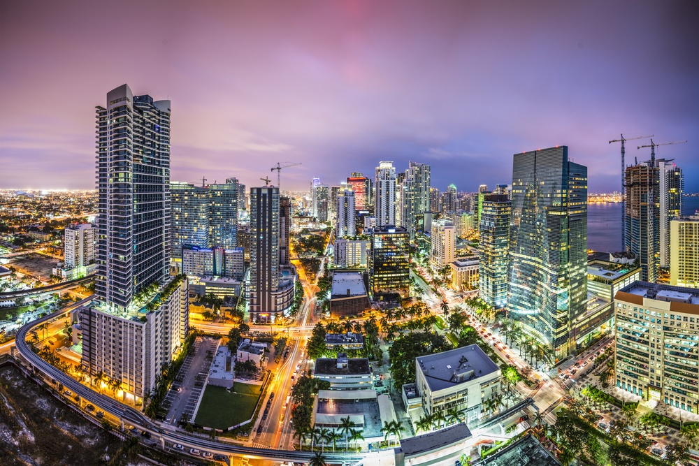 Miami, Florida aerial view of downtown..jpeg