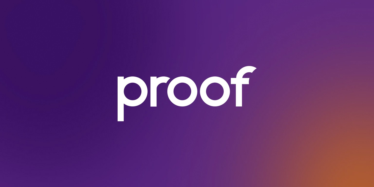 proof experiences logo